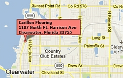 Click for More Detail of map to Carillon Floor Center on North Harrison